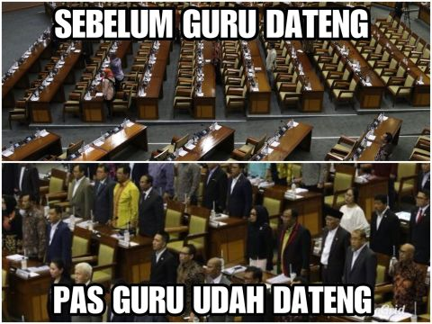 Meme kritik DPR