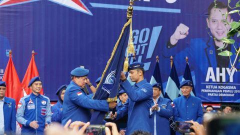 Pengukuhan AHY sebagai Kogasma Partai Demokrat