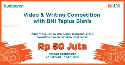 com-Video & Writing Competition BNI Taplus Bisnis
