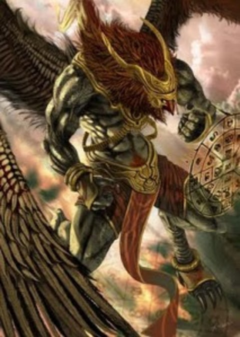 Makhluk Mitologi Garuda Kumparan Com