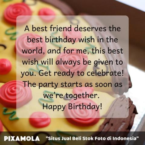 5 Quotes Ucapan Selamat Ulang Tahun Untuk Sahabat Terbaikmu