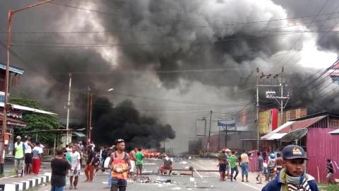 Kerusuhan di Manokwari, Papua