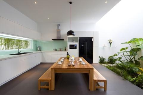 Design Dapur Menyatu Dengan Taman  desain dapur dan ruang makan jadi satu kenapa tidak