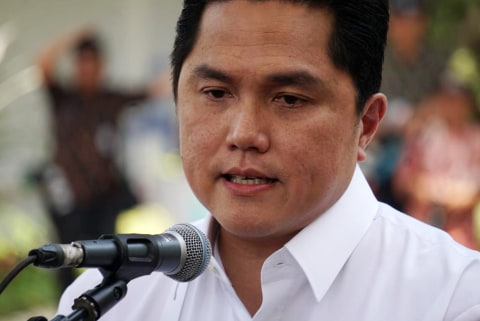 Erick Thohir Berhentikan Semua Deputi dan Sesmen BUMN