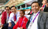 Joni Nonton Pembukaan Asian Games di Bangku VIP Bersama Para Menteri