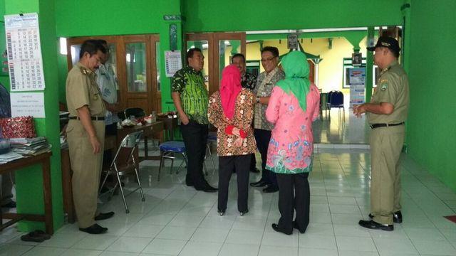 Hari Pertama Kerja Usai Libur Cuti Bersama Idulfitri, Wakil Bupati Blora Sidak PNS