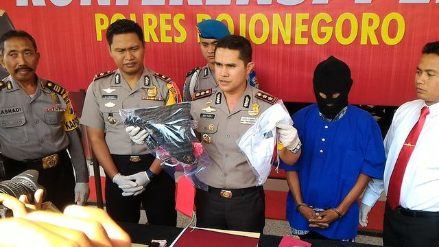 Polres Bojonegoro Rilis Ungkap Kasus Bulan Juli 2018
