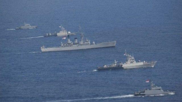 Antisipasi Penyusup di IMF-WB, 10 Kapal Perang TNI AL Awasi Perairan Nusa Dua