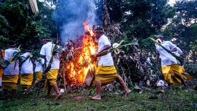Nyepi Desa di Lebu Karangasem, Tradisi Unik Syukuri Panen Raya
