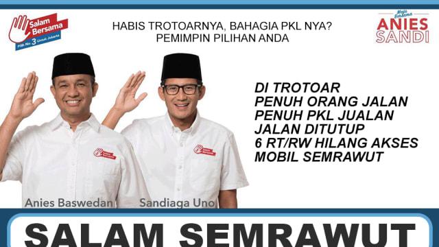 Sekarang Semrawut dan Lama-lama Hancur, Kebijakan Trotoar yang Baru di Jakarta