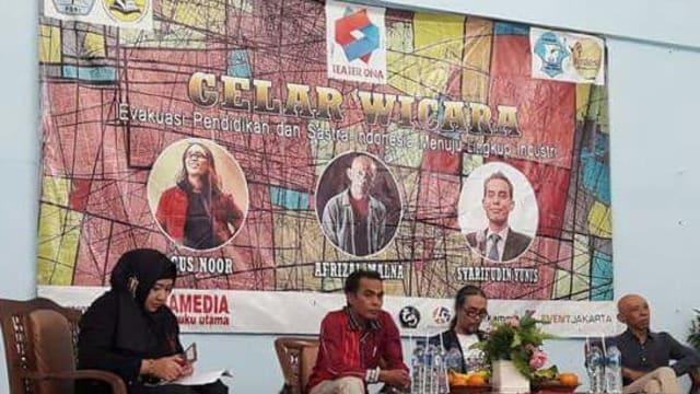Oleh-Oleh Gelar Wicara Evakuasi Pendidikan Bahasa dan Sastra Indonesia Unindra