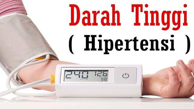 Cara Menurunkan & Menormalkan Tekanan Darah Tinggi / Hipertensi