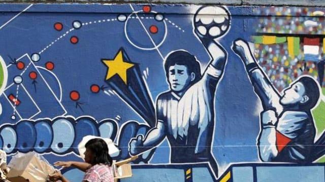 Berikut Adalah  Cerita Panjang, Bagaimana Maradona Bisa Disebut dengan Si Tangan Tuhan
