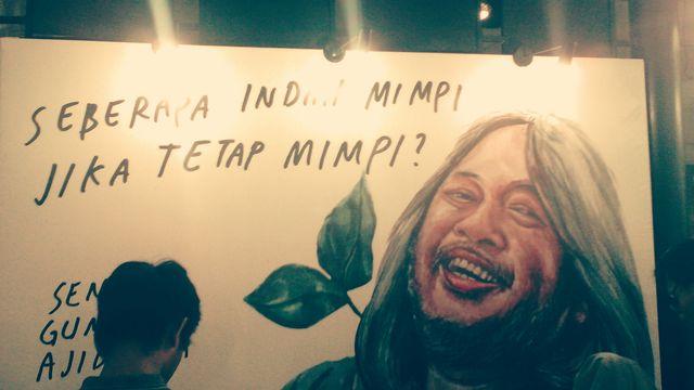 Gambar Ilustrasi Para Sastrawan di Kampung Buku Jogja #3