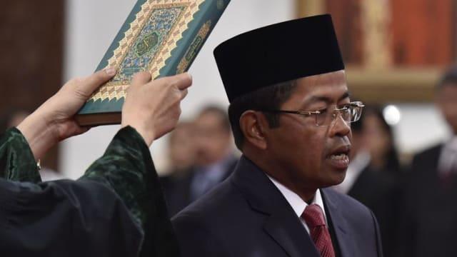 Dua Kali Diusir Dari Kemensos, Akhirnya Idrus Marham Jadi Menteri