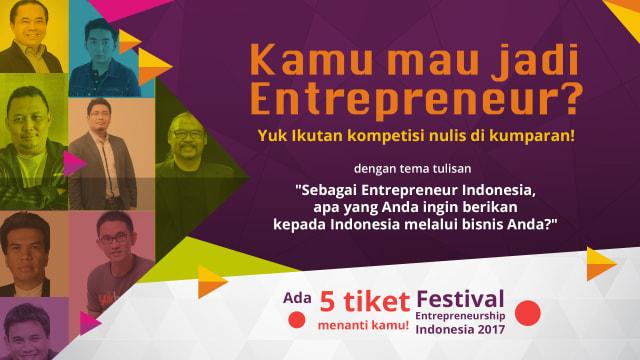 Kuis Festival Entrepreneurship Indonesia 2017