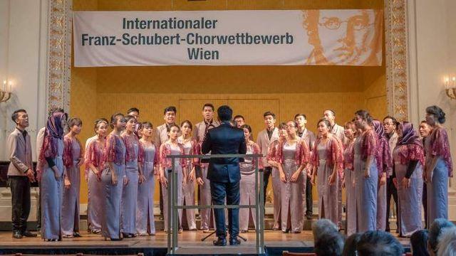 Harumkan Indonesia, Mahasiswa Tel-U Juara 1 Di Kompetisi Musik Internasional Austria