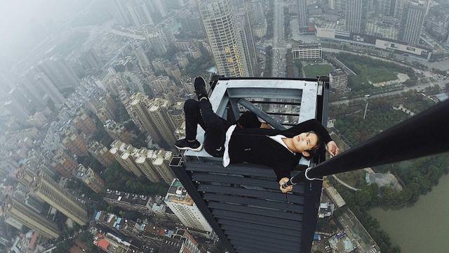 Yong Ning, Rooftop Climber yang meninggal saat menjalankan Aksinya