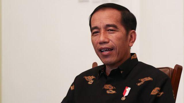 Jokowi Beri Selamat untuk Anthony Ginting
