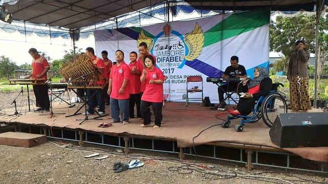 Jambore Difabel Istimewa Jogjakarta