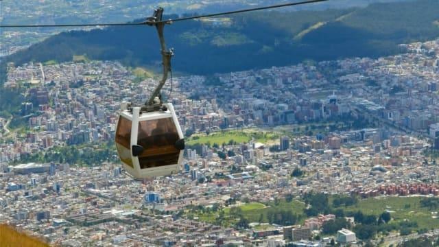 5 Transportasi Unik di Ekuador