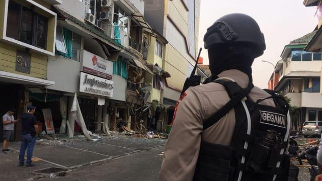 Foto: Suasana Ruko di Jaksel Usai Terjadi Ledakan