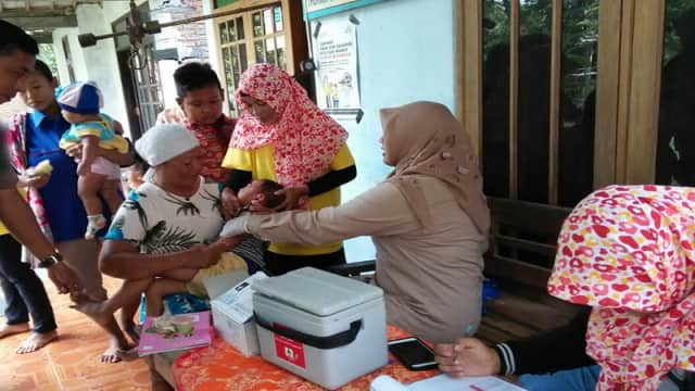 Dinkes Bojonegoro Laksanakan Program ORI Difteri Putaran Kedua