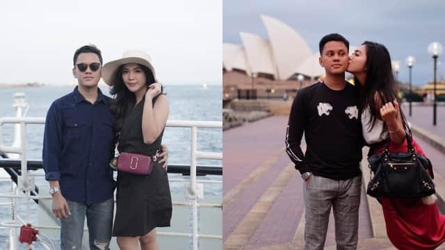 10 Potret Romantis Selebgram Arief Muhammad dan Tiara Pangestika