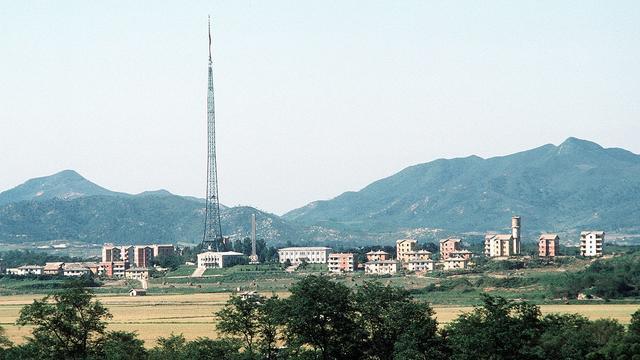 Desa Propaganda di Perbatasan Korea