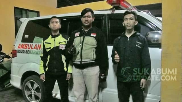 IEA Korwil Sukabumi Raya, Relawan yang Siap Kawal dan Buka Jalan untuk Ambulans