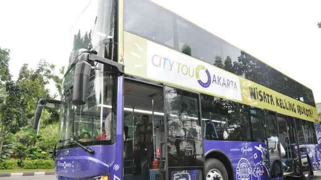 Masih Libur Lebaran? Yuk Ajak Anak Keliling Jakarta Naik Bus Tingkat