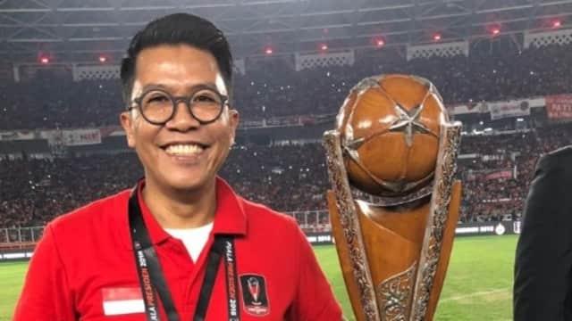Misbakhun Saksikan Keakraban Jokowi-Anies di Final Piala Presiden