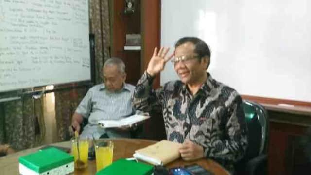 Mahfud MD: UU MD3 Sudah Melanggar Wewenang Penegak Hukum