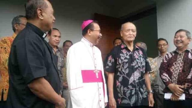 Pasca Penyerangan Gereja, Uskup: Persaudaraan dan Solidaritas Makin Kuat
