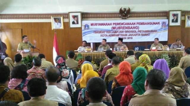 Musrenbang Kecamatan Grogol Petamburan Jakarta Barat Hasilkan 621 Usulan