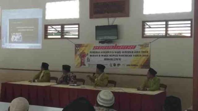 Gandeng LTM-NU, KPU Kabupaten Pasuruan Sosialisasikan Teknis Pilbup 2018 untuk Takmir Masjid