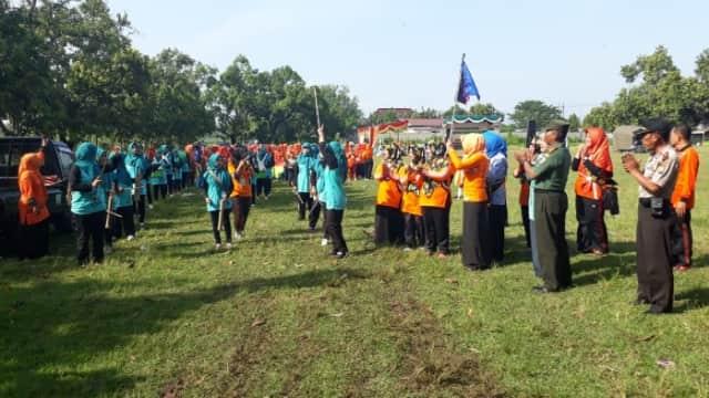 Peringatan Hari Kartini Di Kecamatan Puri Dihadiri Danramil Dan Forpimka