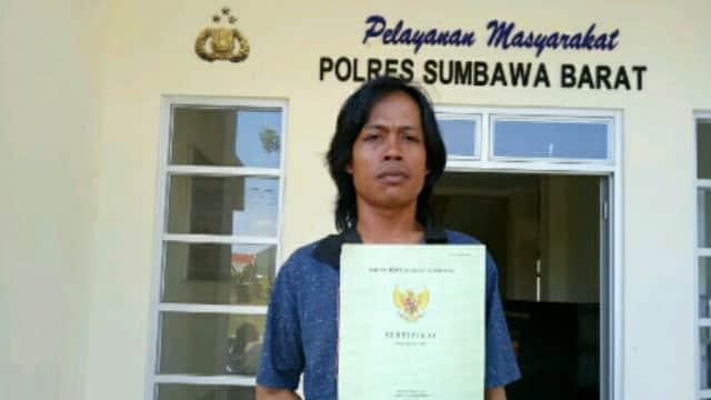 Tidak Terima Tanah Hak Pengusaannya Di jual Kades, Pemilik Hak Adukan Kades Kepolisi