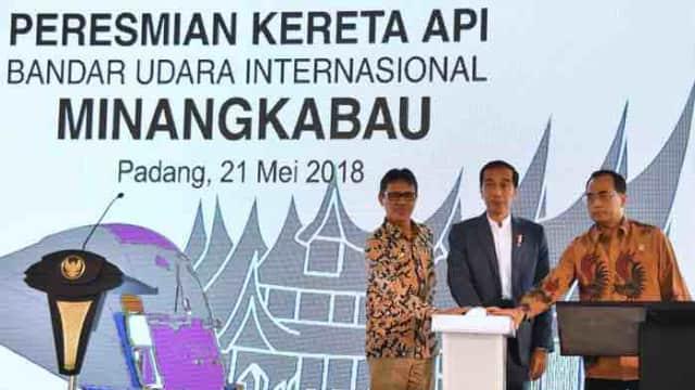 Presiden Jokowi Targetkan Perluasan Bandara Minangkabau Selesai 2019