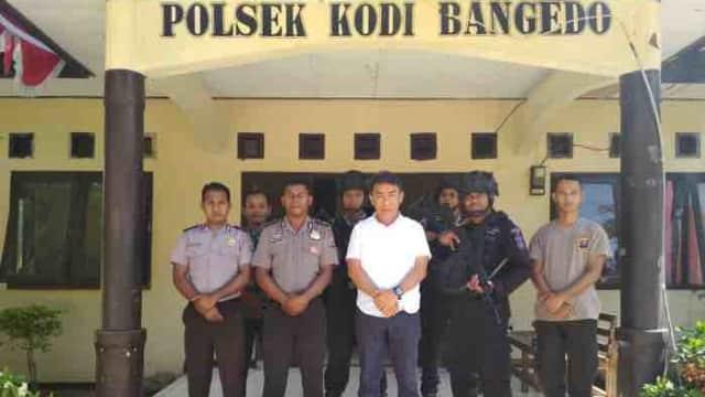 Pesan Kapolres Sumba Barat Kepada Anggota Polsek Kodi Bangedo di Sela-sela Kunjungannya