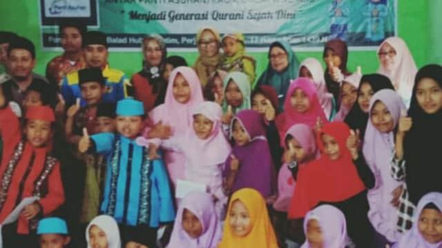 KNPI Menutup 'Kemilau Ramadhan Milineal 1439 H' Bersama Anak Yatim Piatu dan Kaum Dhuafa