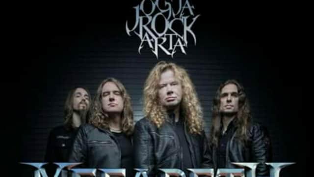 JogjaRockarta 2018, Megadeth Bakal Mengguncang Jogja