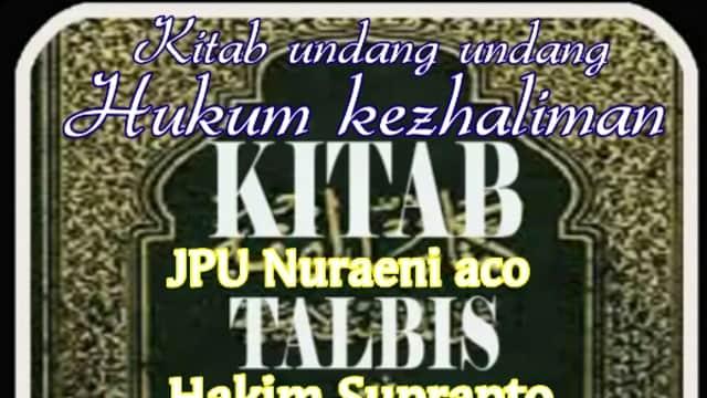 K.U.H.P sang Iblis
