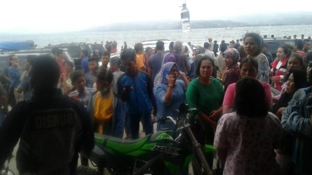 Kapal Tenggelam di Danau Toba Tidak Mempunyai Manifes Penumpang