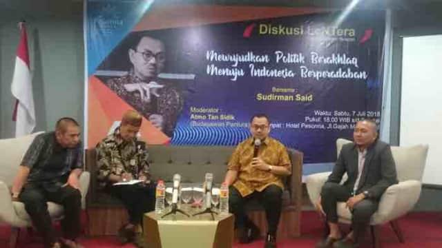 Tak Jadi Gubenur, Sudirman Said Fokus Tebarkan Politik Sehat