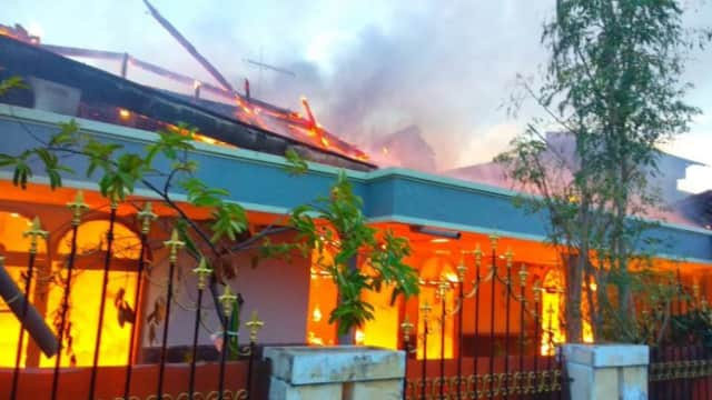 Rumah di Kelurahan Jati Terbakar, Pemilik Menduga Karena Korsleting Listrik