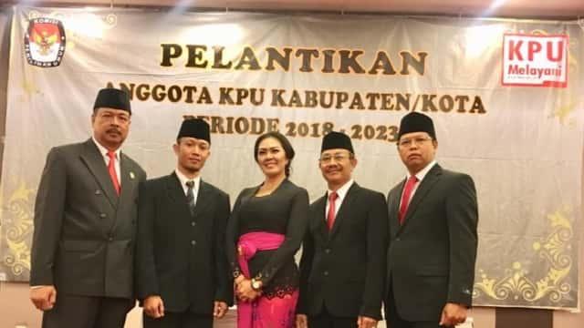 Ini Dia Komisioner KPU  KPU Kabupaten/Kota Se-Bali