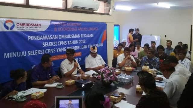 Sejumlah Lowongan Formasi CPNS di Bali Nihil Pelamar