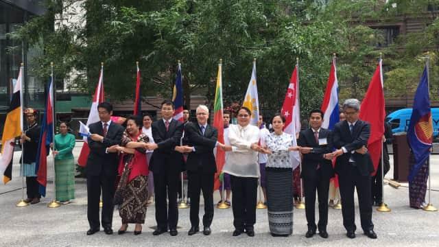 Meriah, Perayaan HUT Emas ASEAN di Chicago