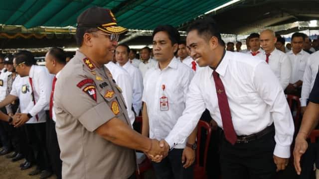 Amankan IMF-WB, Ribuan Personel Polda Bali Ikuti Latpraops